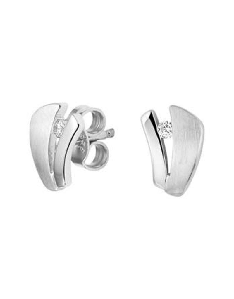 Blinckers Jewelry Huiscollectie 13.27284 Oorknoppen Zirkonia