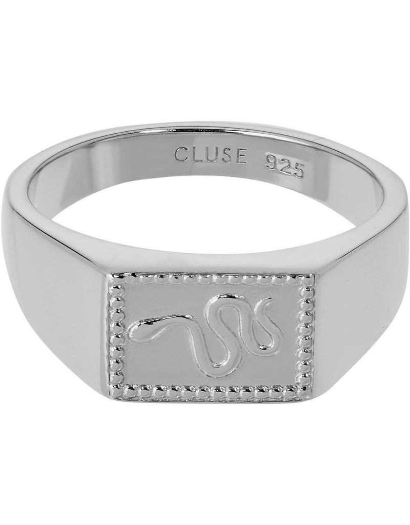 Cluse CLJ42012-56 ring Force Tropicale zilver