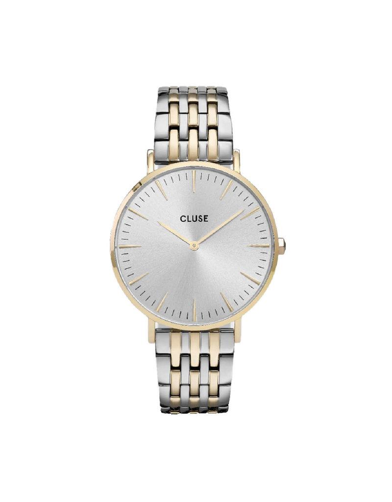 Cluse Cluse CW0101201025 Horloge Boho Chic Bohhéme Multi link Gold/Silver
