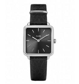 Cluse Cluse CW0101207027 Horloge La Tétragone Silver Black