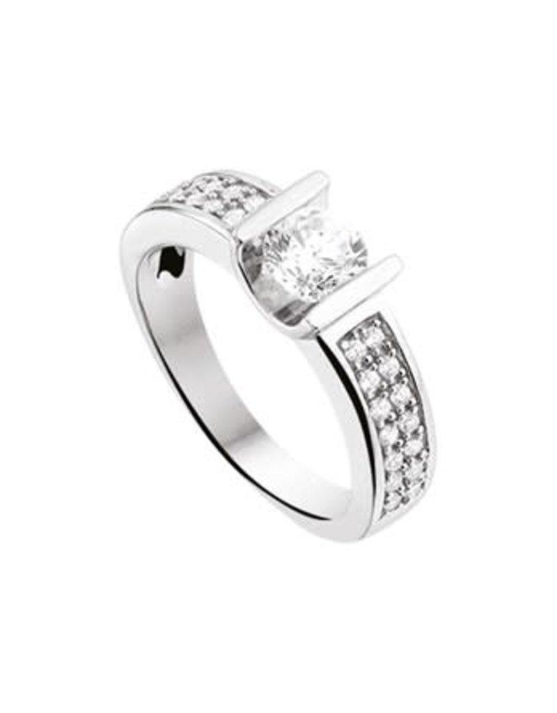 Blinckers Jewelry Huiscollectie 13.27572 Ring Zirkonia - Maat 17,75