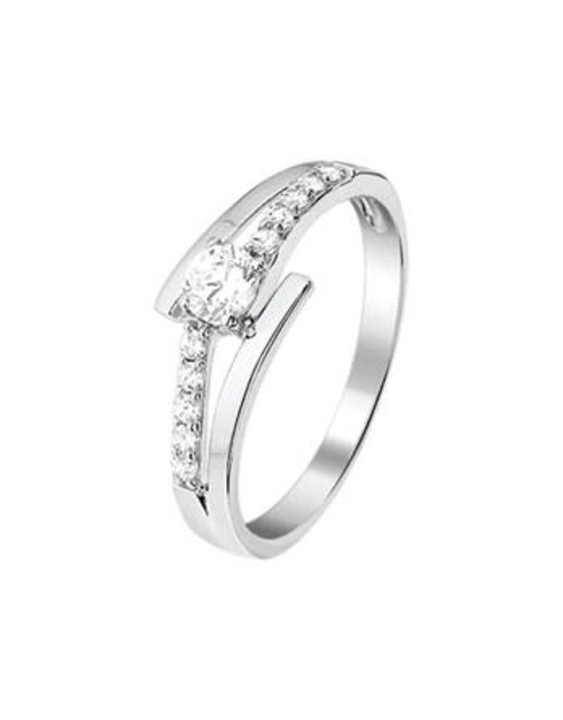Blinckers Jewelry Huiscollectie  13.27608 Ring Zirkonia - Maat 17,75