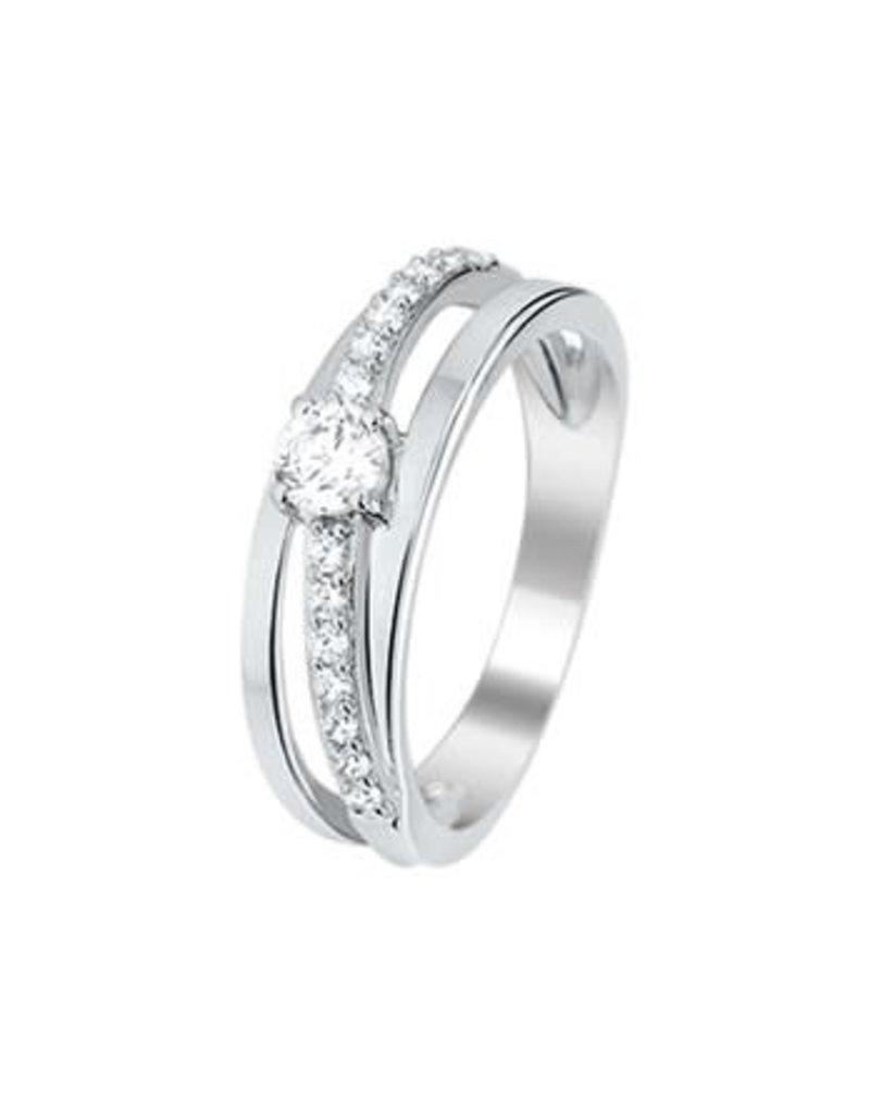 Blinckers Jewelry Huiscollectie  13.27614 Ring Zirkonia - Maat 17,75