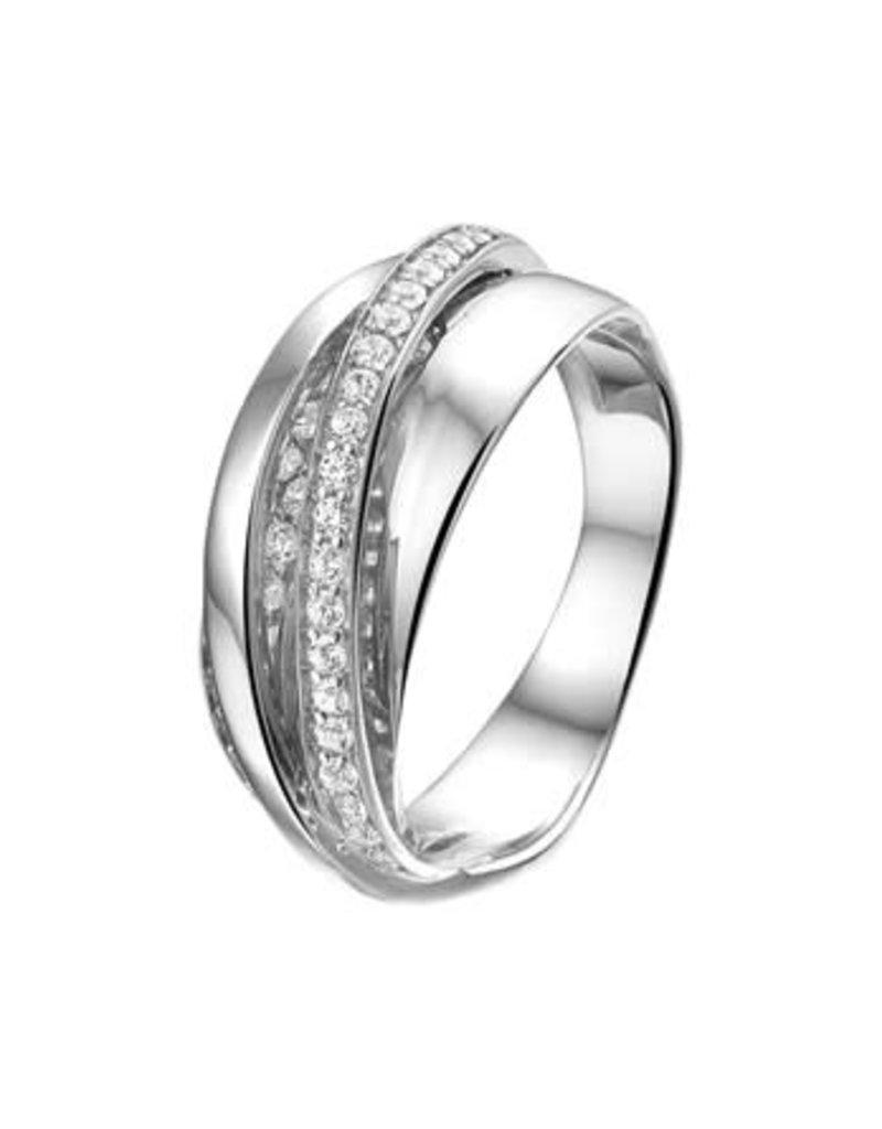 Blinckers Jewelry Huiscollectie  13.27666 Ring Zirkonia - Maat 17,75