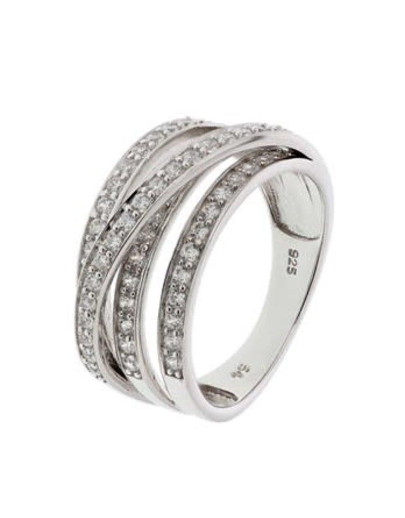 Blinckers Jewelry Huiscollectie 13.27669 Ring Zirkonia - Maat 17,25