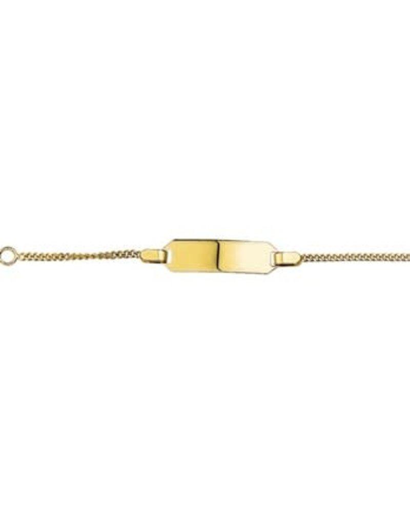 Blinckers Jewelry Huiscollectie 40.18454 Armband  baby 14 krt goud