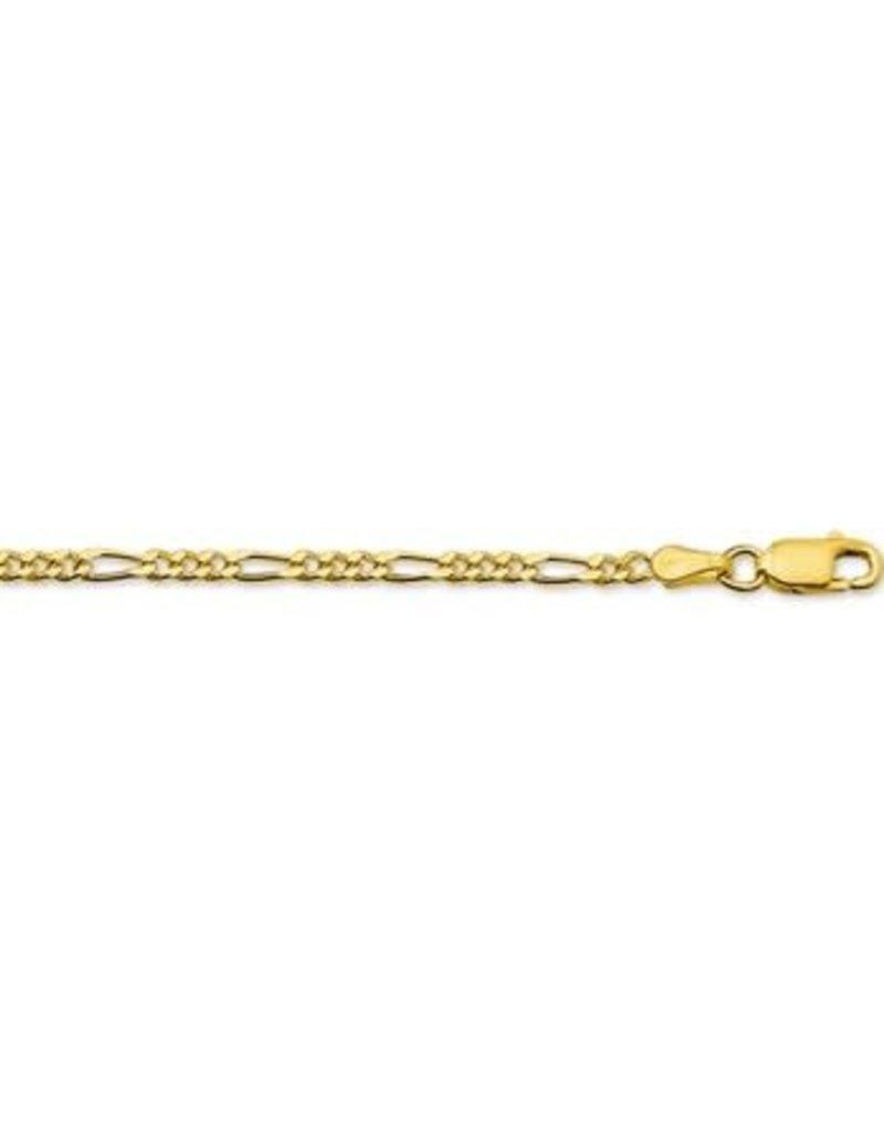 Blinckers Jewelry Huiscollectie  40.18425 Armband 14 krt goud Figaro