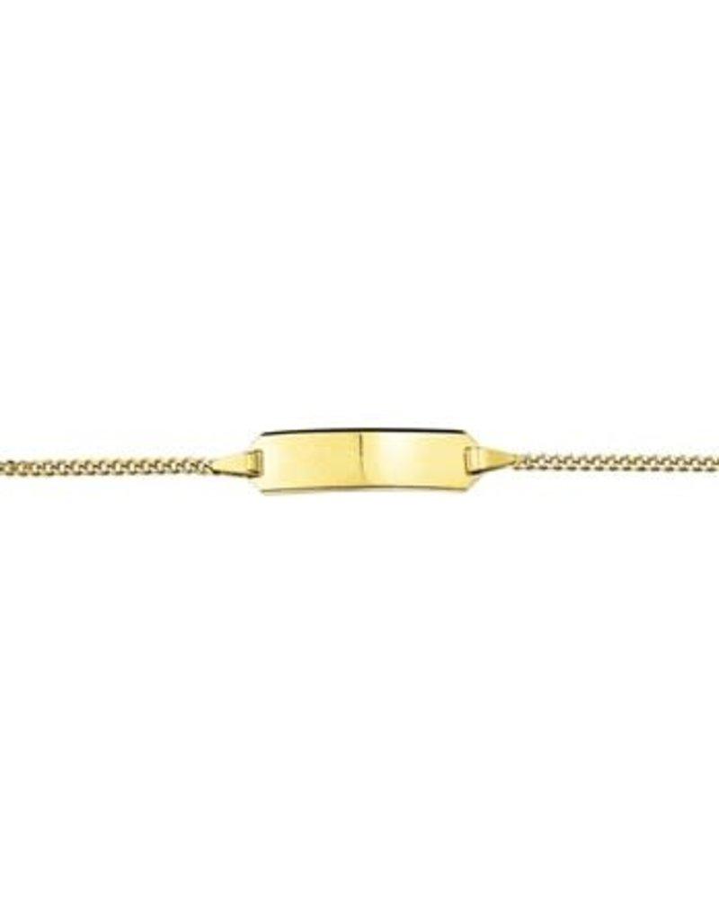 Blinckers Jewelry Huiscollectie  40.18444 Graveerarmband Gourmet plaat 5mm - 9, 11 cm