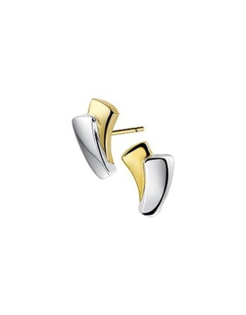 Blinckers Jewelry Huiscollectie  42.07718 Oorbellen 14 Krt Goud bicolour