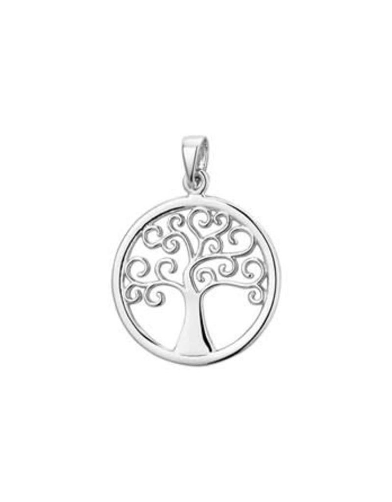 Blinckers Jewelry Huiscollectie 13.23653 Bedel Levensboom zilver