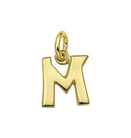Blinckers Jewelry Huiscollectie Kasius 4006401 Letter M 14 k goud
