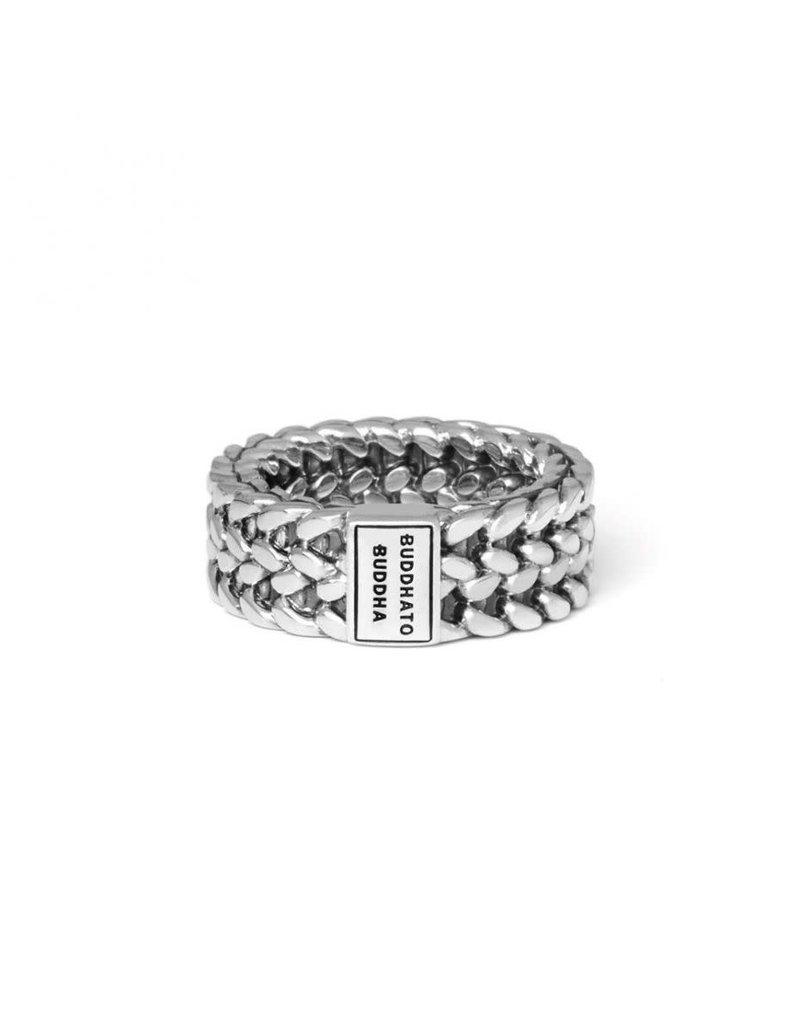 Buddha to Buddha 193 Ring zilver Julius - Maat 22.00 mm (69)