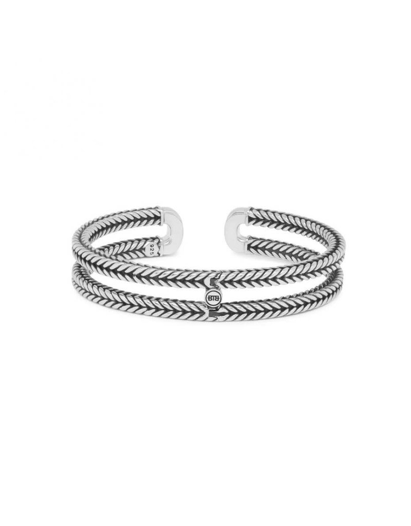 Buddha to Buddha BtoB 115 F Armband Barbara Link Bangle Silver Maat F