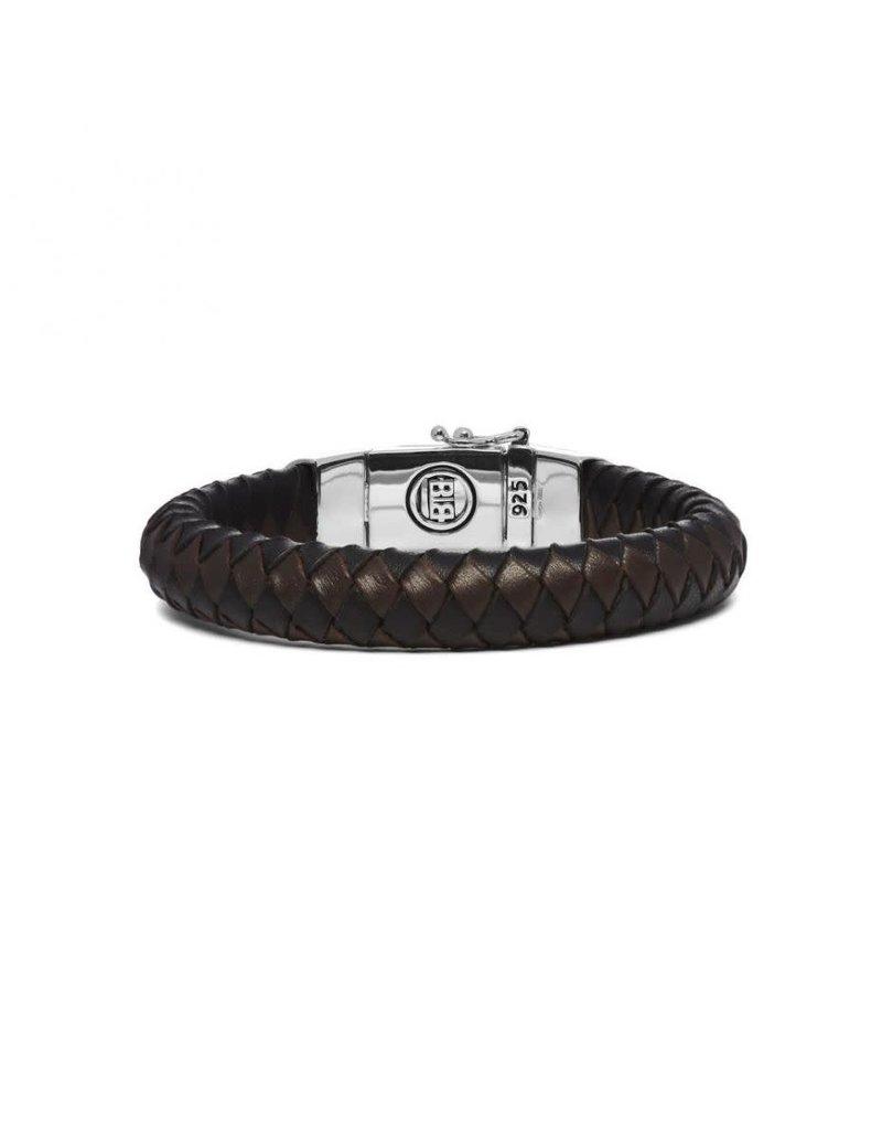 Buddha to Buddha BtoB 544MIX G Armband Ben mix G black brown - Maat G 23 CM