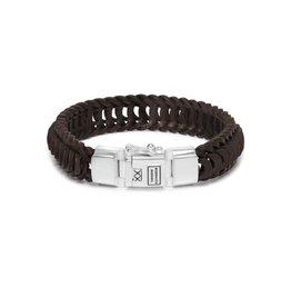 Buddha to Buddha BtoB 122BR F Armband Lars Leer Bruin Maat F