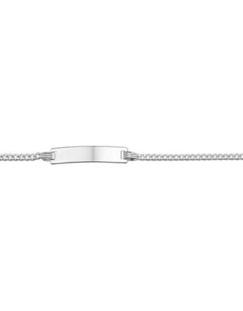 Blinckers Jewelry Huiscollectie 13.27732 Graveerarmbandje Zilver - 9-11cm