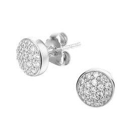 Blinckers Jewelry Huiscollectie 13.27314 Oorstekers Zilver met Zirkonia
