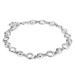 Blinckers Jewelry Huiscollectie 13.22363 Armband zilver met Zirkonia