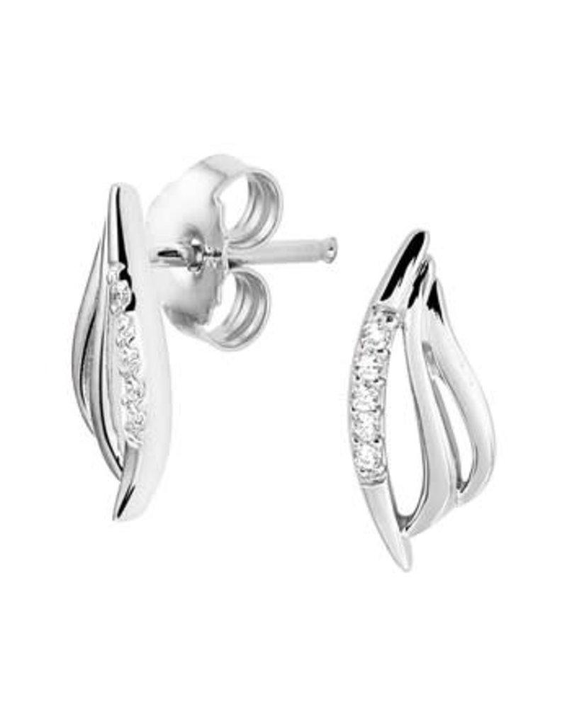 Blinckers Jewelry Huiscollectie 13.27291 Oorknoppen Zirkonia