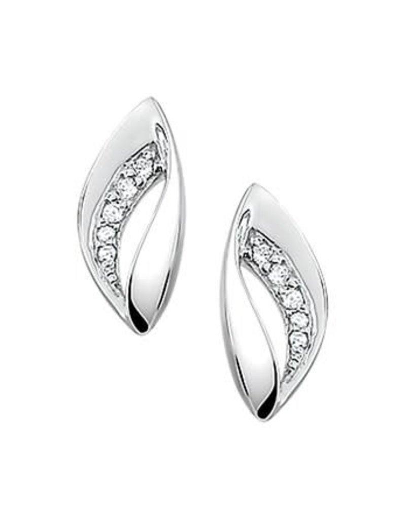 Blinckers Jewelry Huiscollectie  13.27294 Oorknoppen Zirkonia