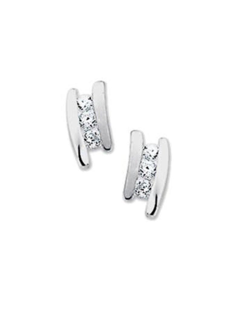Blinckers Jewelry Huiscollectie 13.27299 Oorknoppen Zirkonia