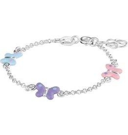 Blinckers Jewelry Huiscollectie 13.24604 armband vlinder 13-15cm