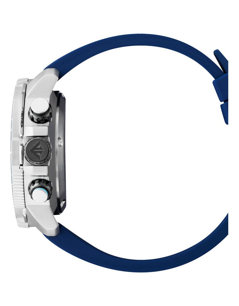 Citizen BJ2169-08E Heren duikhorloge Promaster stalen kast met blauwe duikring en rubber band