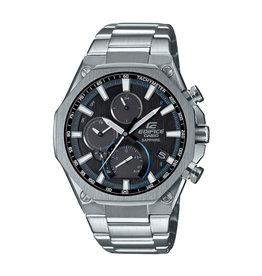 Edifice EQB-1100D-1AER heren horloge staal chronograaf met zwarte wijzperplaat