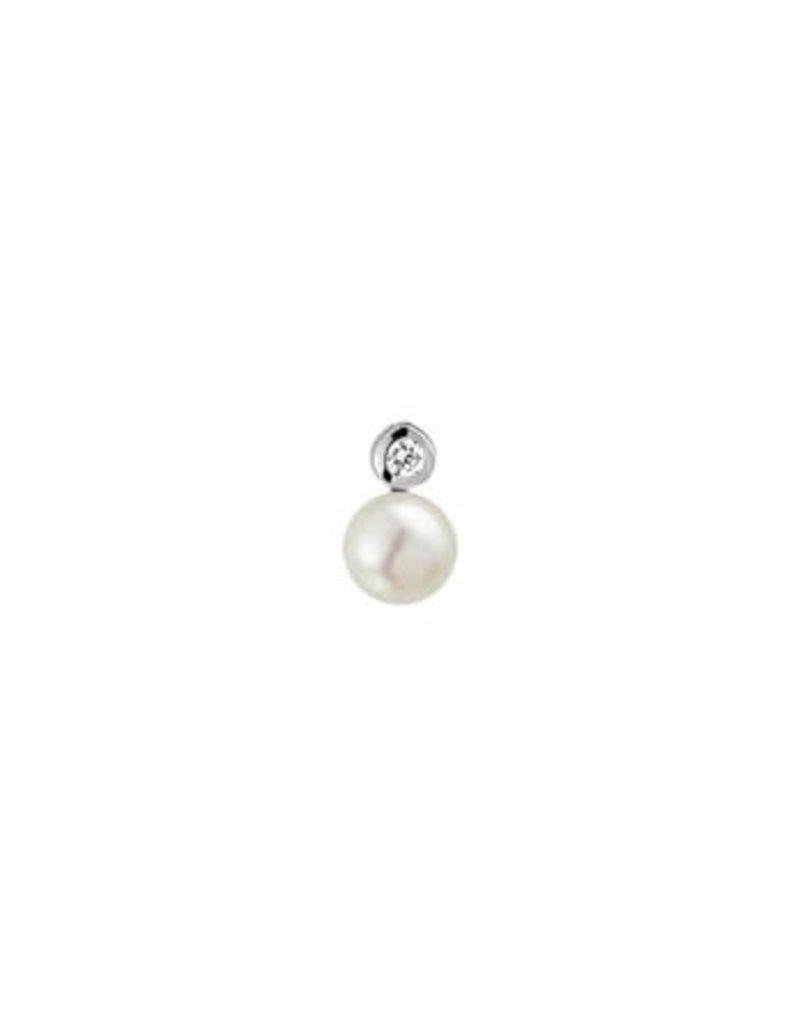 Blinckers Jewelry Huiscollectie 13.21979 Hanger Parel en Zirkonia
