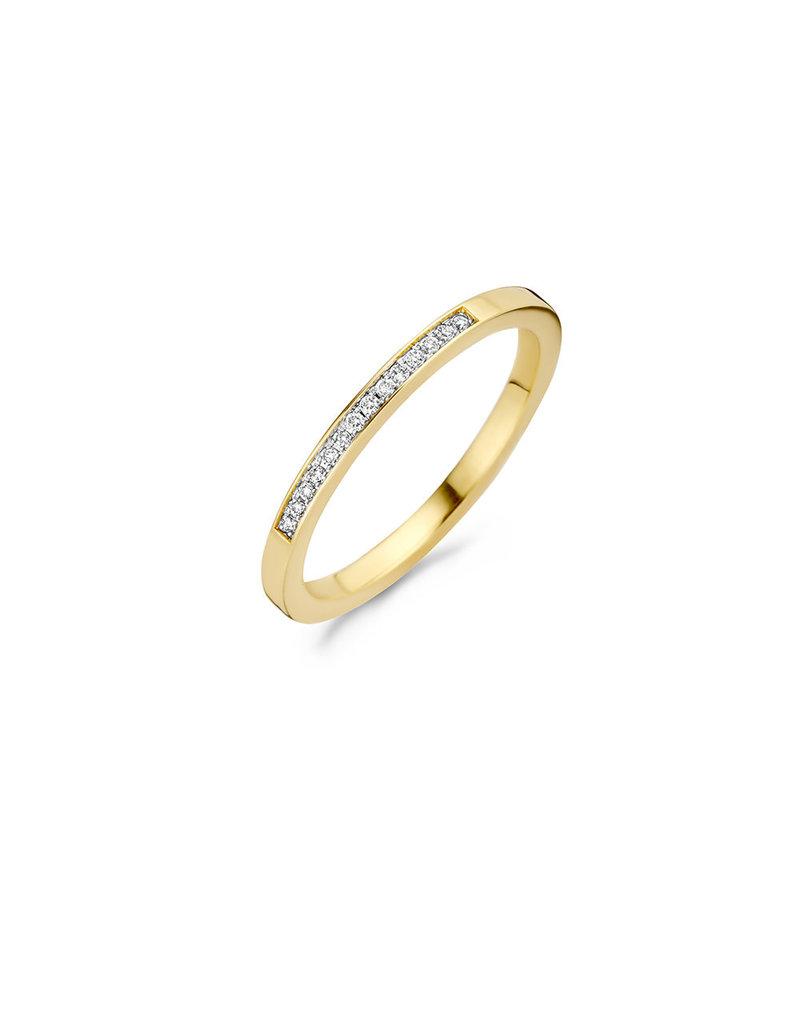 Blush Blush 1630BDI/54 Ring 14 Krt goud met Diamant 0.06Crt