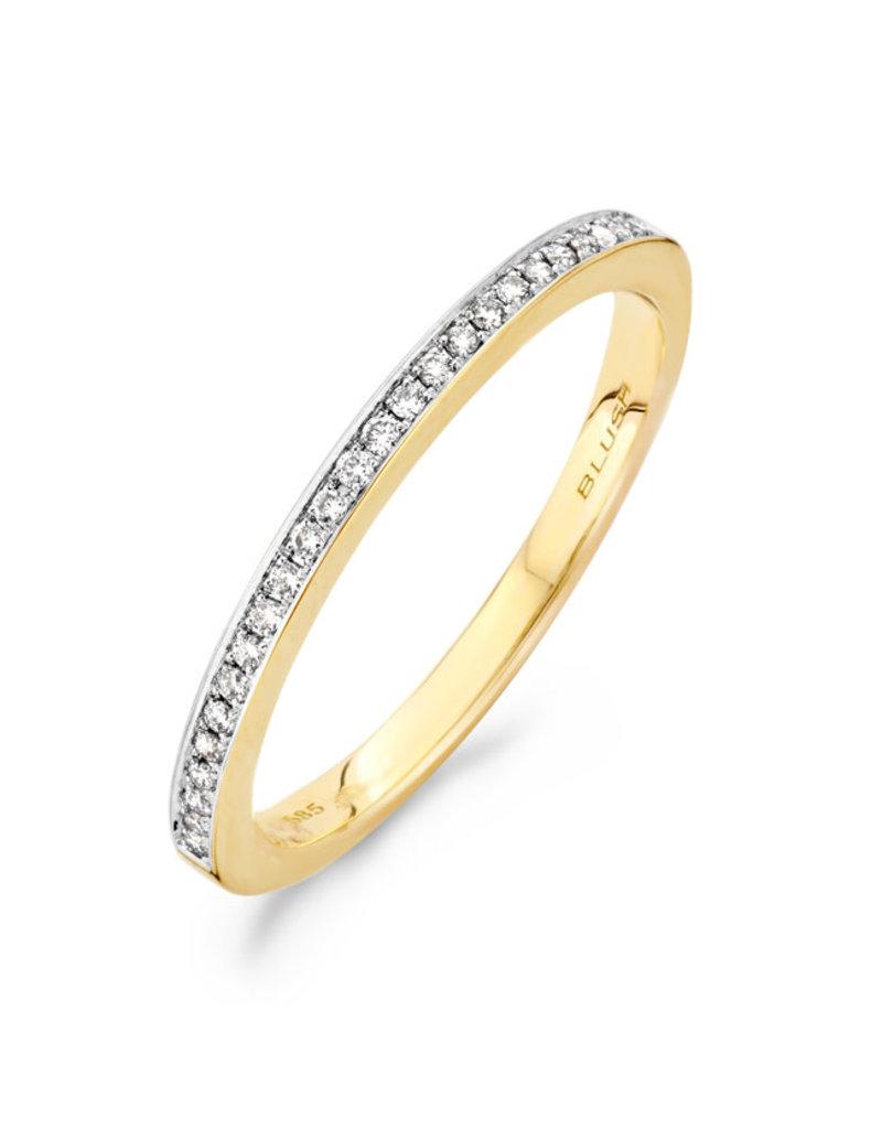 Blush Blush 1607BDI/52 ring geelgoud met diamant maat 52