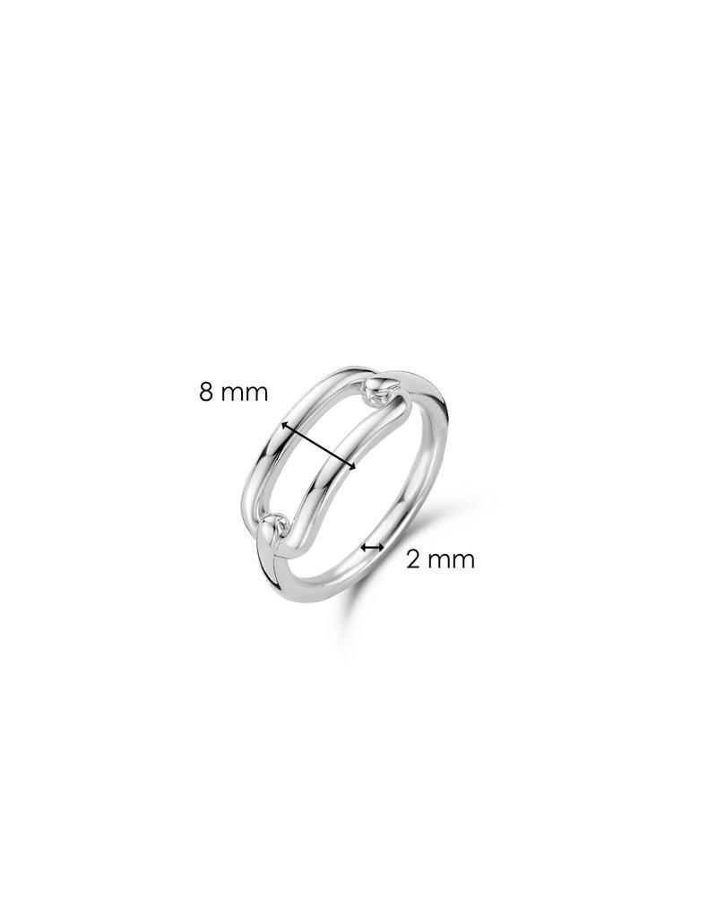 Ti Sento Milano 12229SI/56 Ring zilver link