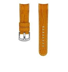 TW Steel TWB115 Horloge band grandeur oranje croco 24MM