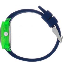 Ice Watch IW018931 Kinder horloge Dino kunstof donkerblauw met groen  en silicone band