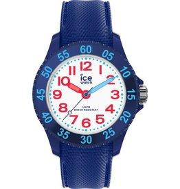Ice Watch IW018932 Kinderhorloge kunststof  in donkerblauw met idem siliconen band.