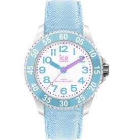 Ice Watch IW018936 Kinderhorloge kunststof witte kast met lichtblauwe silicone band