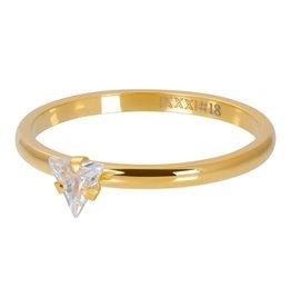 iXXXi iXXXi R04210-01 20 Ring Triangle Crystal Stone