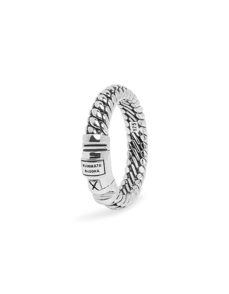 Buddha to Buddha 613 20 Buddha to Buddha ring mt 20 Ben XS Lock  in 925 zilver