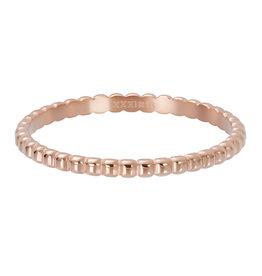 iXXXi iXXXi R02802-02 18 Ring Bolletjes Rose kleurig
