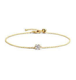 Blush Blush 2166YZI Armband 14 k goud met diamant gezette zirkonia 18 cm