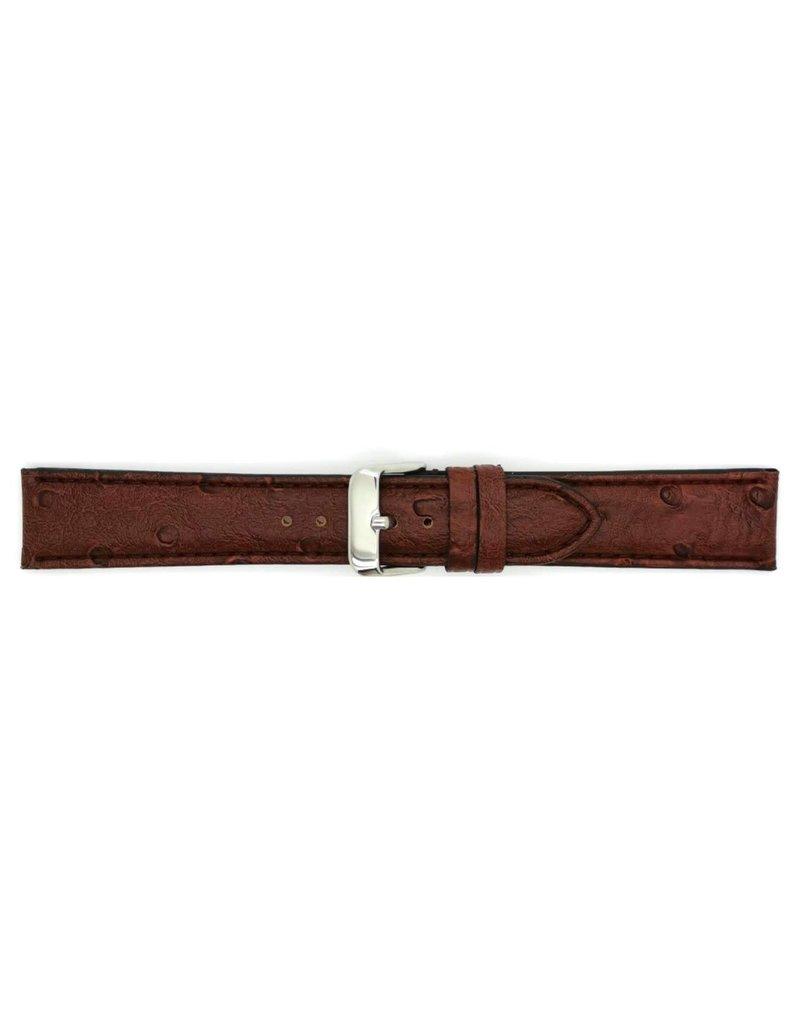 BBS Horlogebanden BBS 00112000_03_20_mm Horlogeband Kalfsleer 20 MM