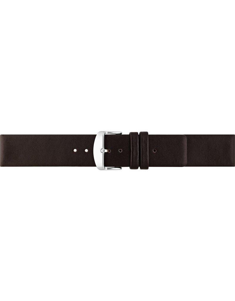 BBS Horlogebanden BBS  00067111_03_14_mm Horlogeband Kalfsleer 14 MM