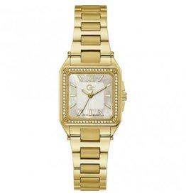 GC GC Y85001L-1MF horloge dames Sport Chic staal goldplated  mother of pearl wijzerplaat  en Swarovski steentjes