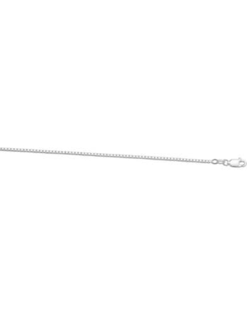 Blinckers Jewelry Huiscollectie 1001761 BJ Collier zilver 70 cm1.4 mm