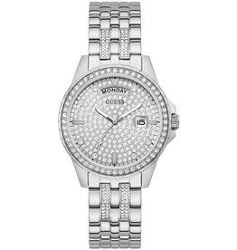 Guess Guess GW0254L1 horloge dames staal met stalen band en zirconia