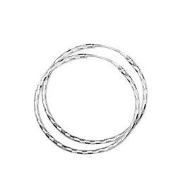 Blinckers Jewelry Huiscollectie 13.22229 Oorbellen Creool Zilver
