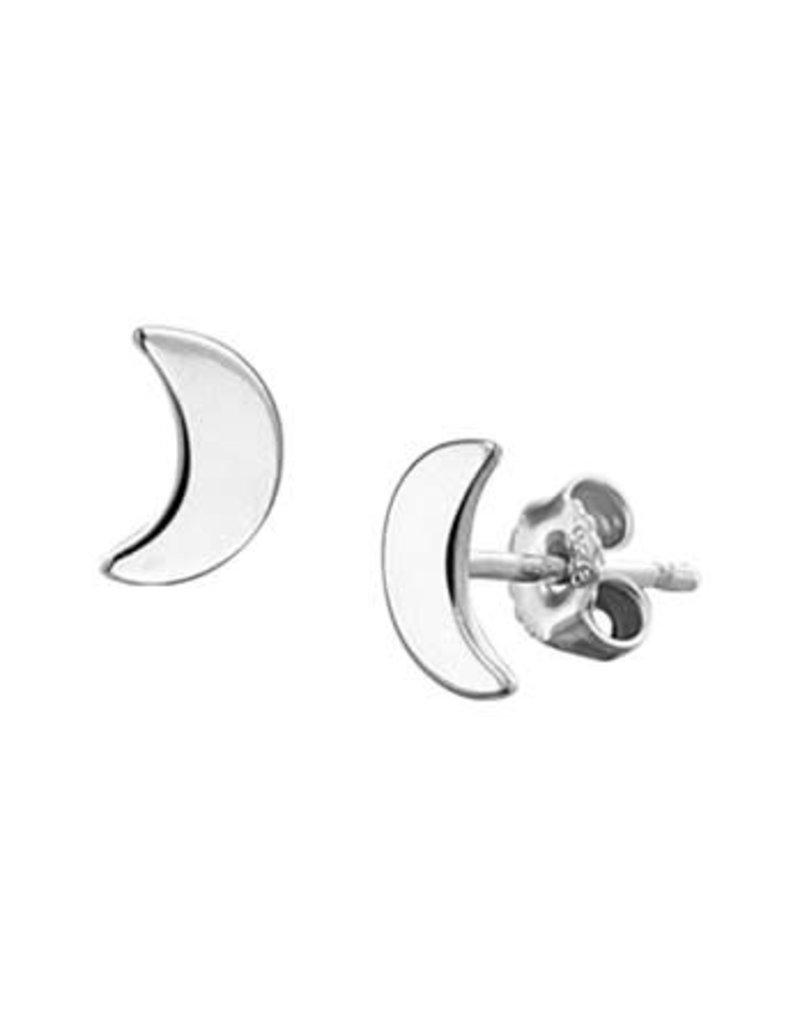 Blinckers Jewelry Huiscollectie BJ 1327348 Oorstekers 925 zilver maan