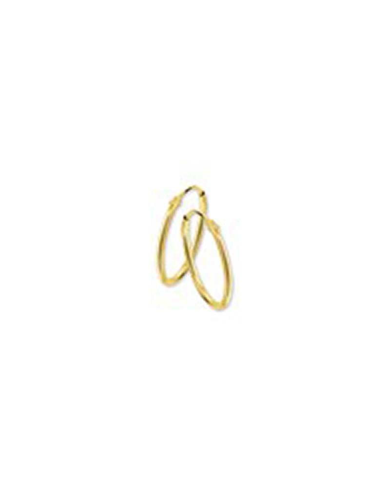 Blinckers Jewelry Huiscollectie BJ 40.18320 Oorbellen 14 krt goud 9mmx1,3mm