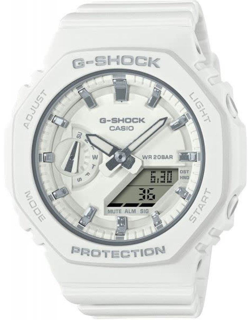 Casio Casio GMA-S2100-7AER horloge unisex wit met witte band