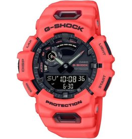 Casio Casio GBA-900-4AER G-Shock unisex 3 hands / digitaal in signaal kleur